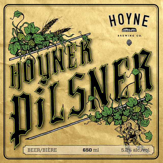 Hoyne Pilsner is a tasty delight