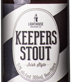 Keepers features hints of chocolate and coffee in a stout body