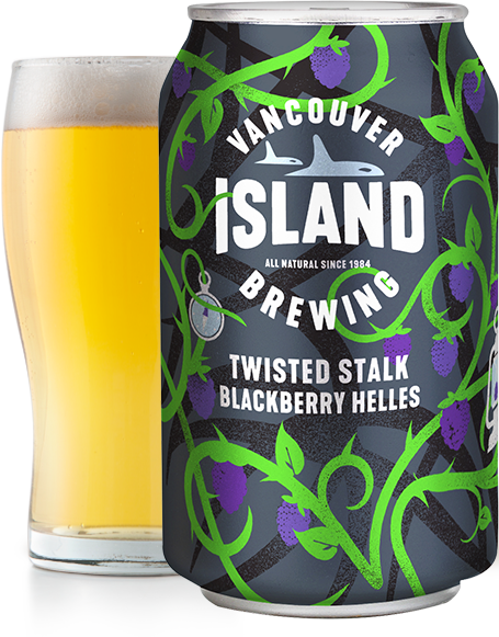 twisted Stalk Blackberry Helles